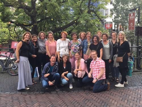 foto van hele team leerkrachten van de Delteyk